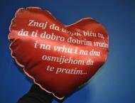 Jastuk Srce