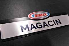 Trimix, natpis za vrata