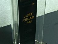 Trofej JUST RELAX JAM